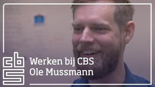 Senior ICT onderzoeker Ole Mussmann vertelt over zijn werk bij het CBS